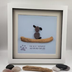 Pebble Art Dog