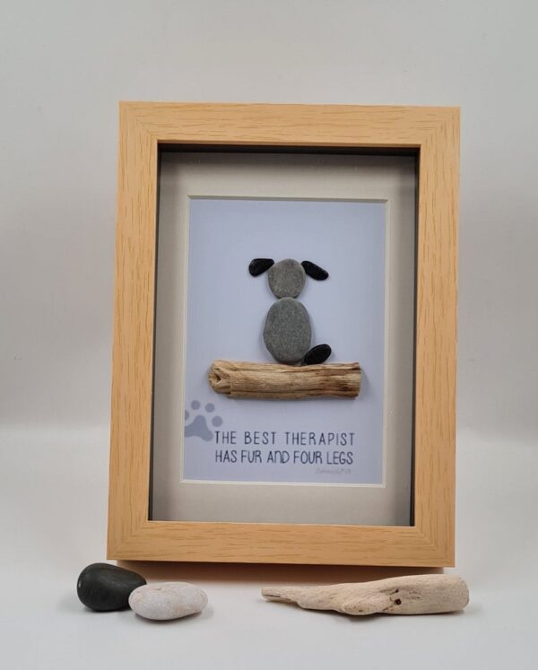 Dog Pebble Picture