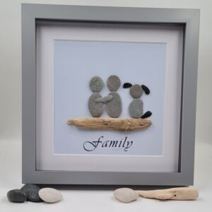 Family Pebble Picture
