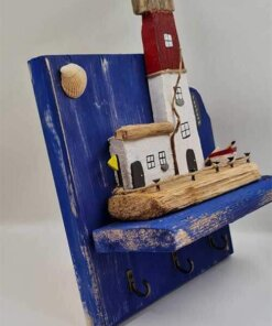 Driftwood Lighthouse Keyholder