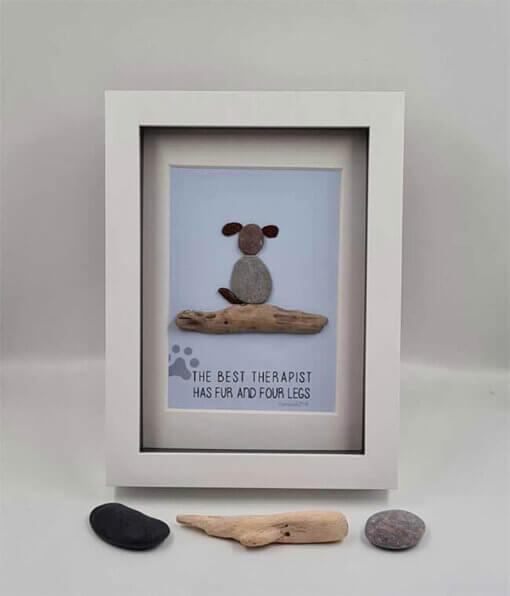 Driftwood Pebble Dog